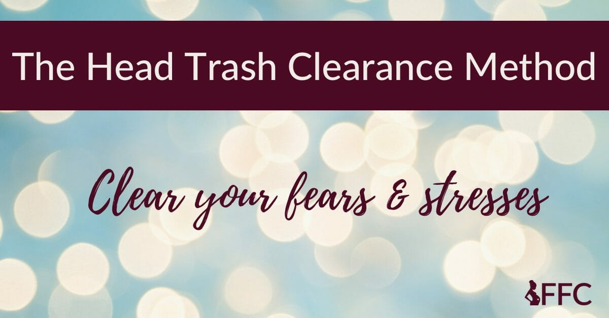 head trash clearance method