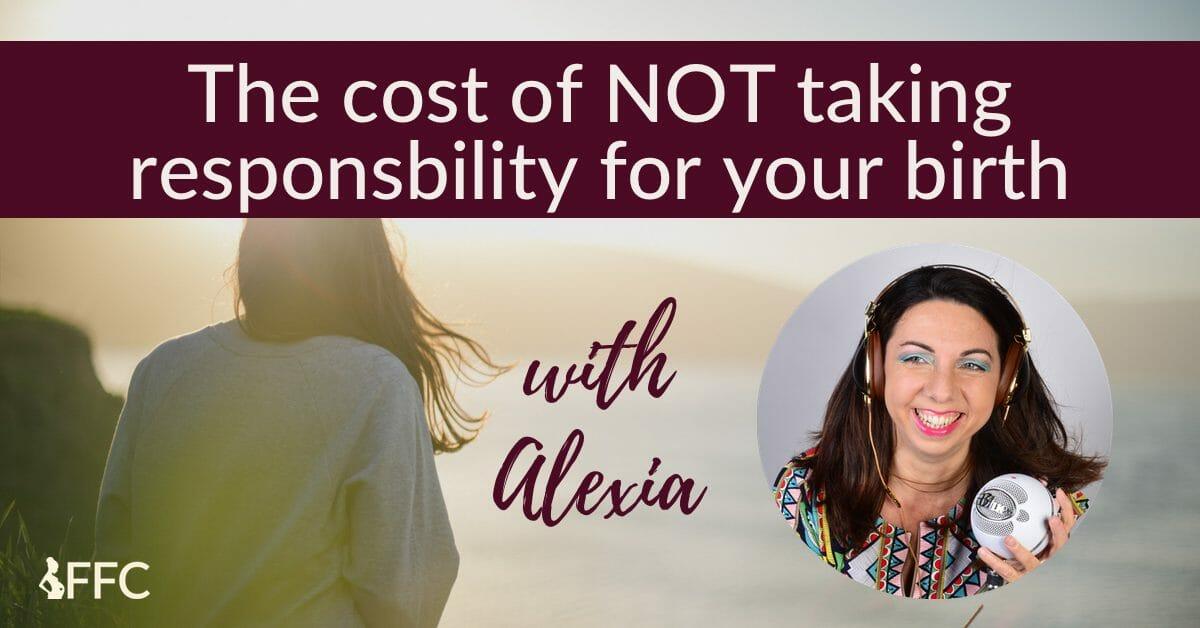 taking responsibility