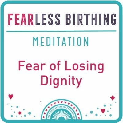 fear of losing dignity