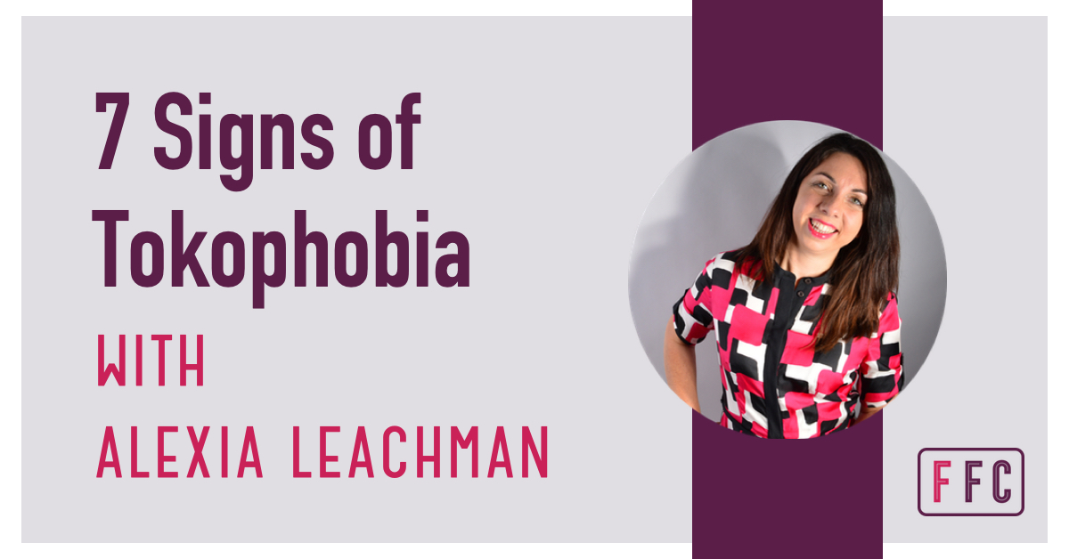woman with tokophobia